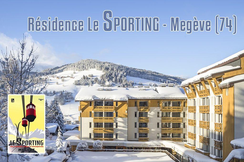 Residence Le Sporting Megeve appartements à vendre Boan Immobilier